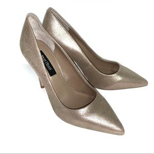 White House Black Market Olivia Neutral Heels 7